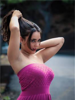 Violet dress (1)