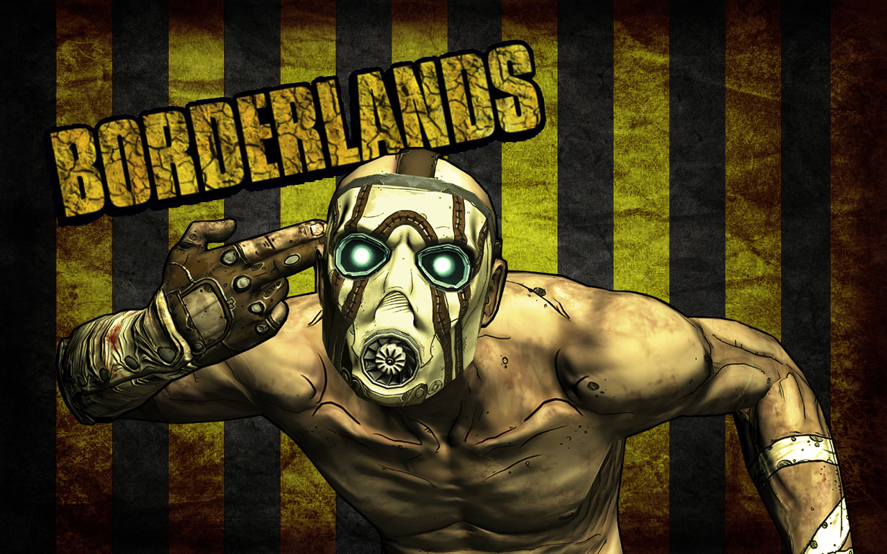 Borderlands Psycho Wallpaper By Feferest On DeviantART