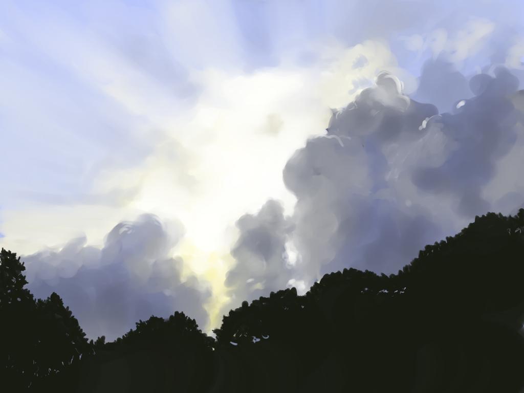 clouds I saw by Miziziziz