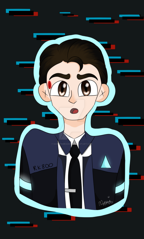The android sent by CyberLife by KanernMeadow