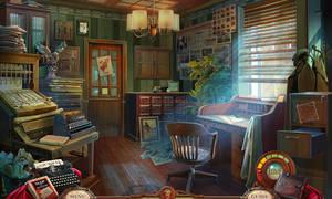 Editorial Office - game scene
