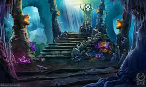 Dead king tomb - game scene