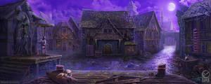 Gallows square - game scene