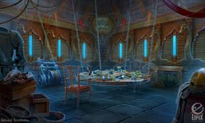 Guard tower - game scene