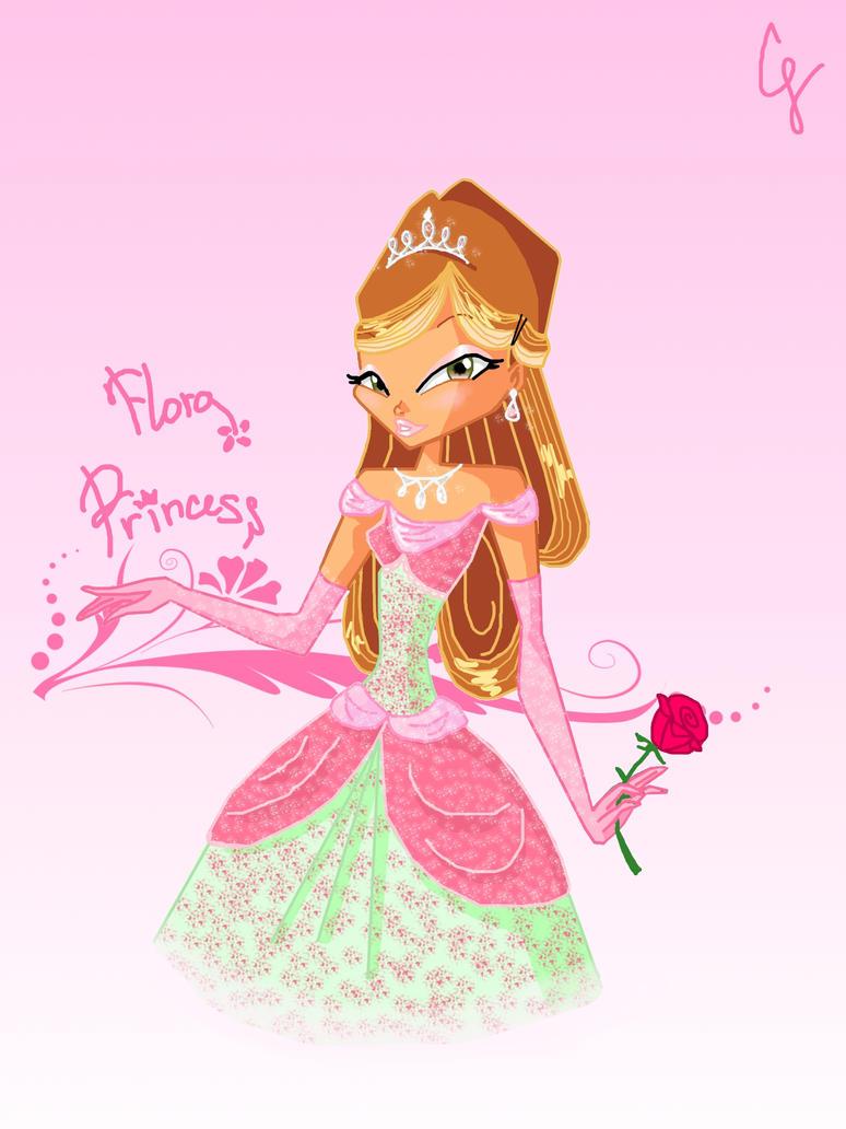 Flora princess by grettafatal - Princesse winx ...