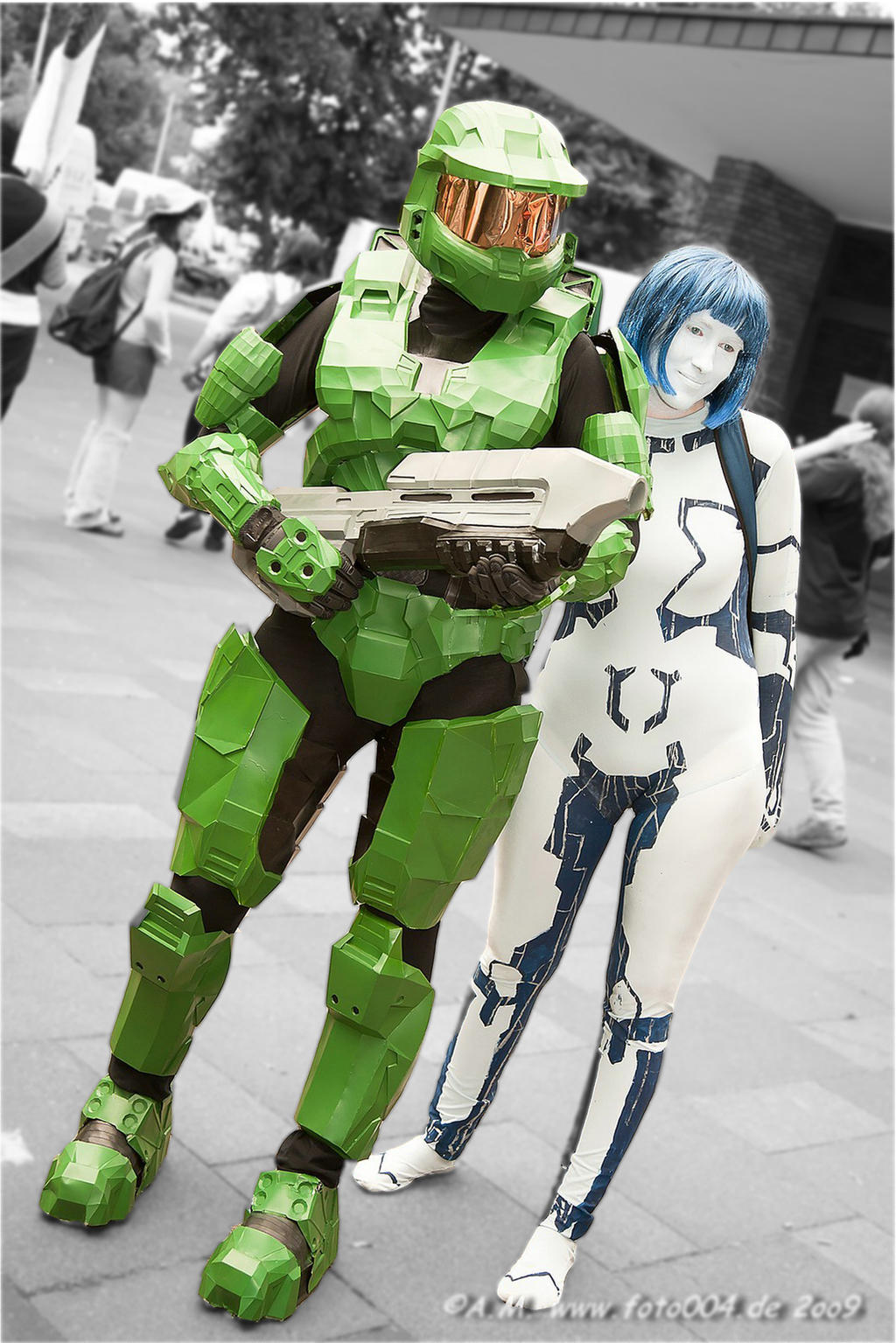 ... Halo - Master Chief and Cortana by TooN-Twins & Halo - Master Chief and Cortana by TooN-Twins on DeviantArt
