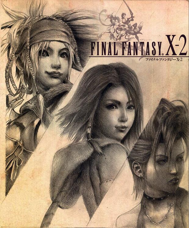 final fantasy x-2 by gin-1994