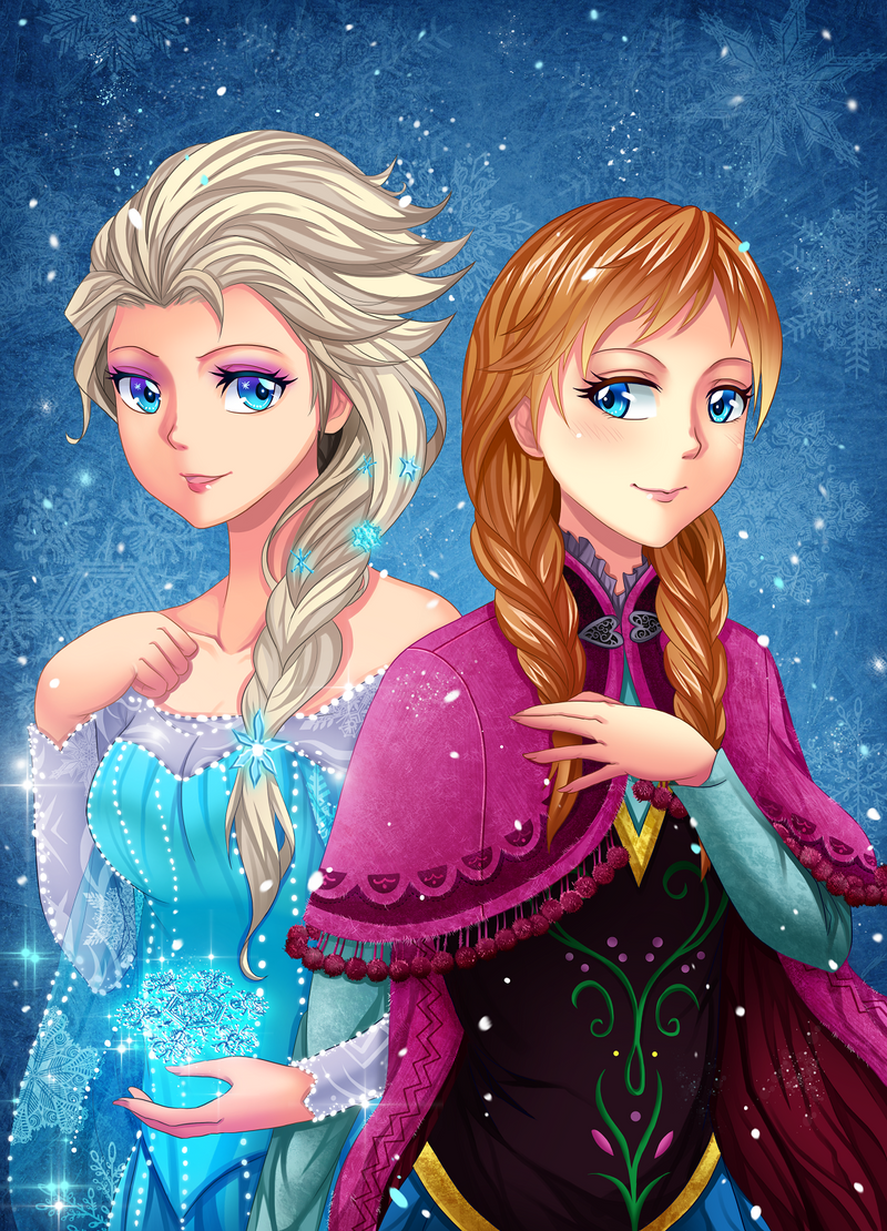 elsa_and_anna___frozen_by_gin_1994-d711w
