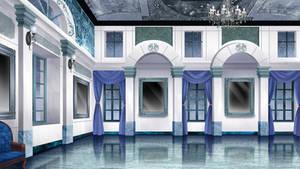 The royal ballroom - Visual novel BG by gin-1994