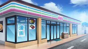 The convience store - Visual novel BG