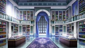 Royal Library - visual novel BG
