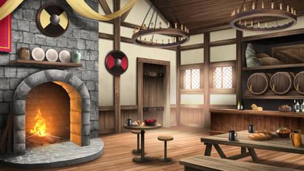 The Tavern - visual novel BG
