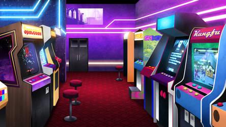 Arcade - visual novel BG