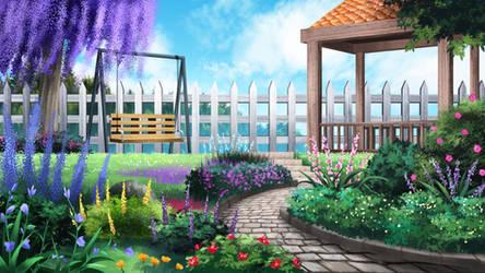 The Garden - visual novel BG