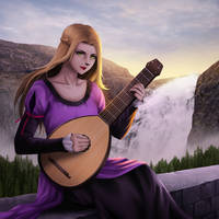 The musician by gin-1994