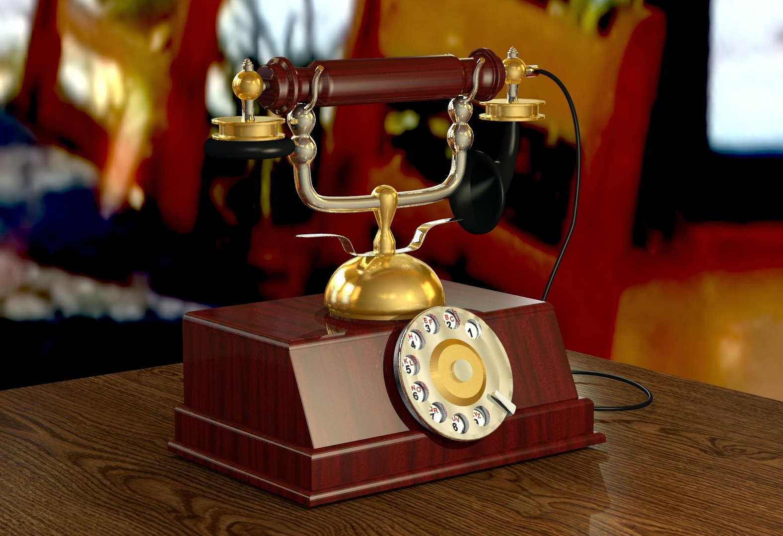 Telephone 2 by Ozzik-3d