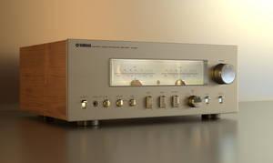 Yamaha amp by Ozzik-3d
