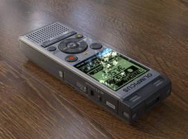 Diktofon by Ozzik-3d