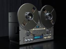Pioneer CR 909 by Ozzik-3d