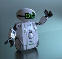 Robot1 by Ozzik-3d