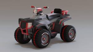 Quad bike by Ozzik-3d