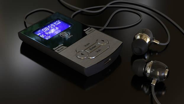 DAB radio by Ozzik-3d