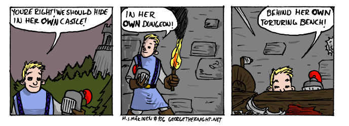 George the Knight #106 by maziwapp