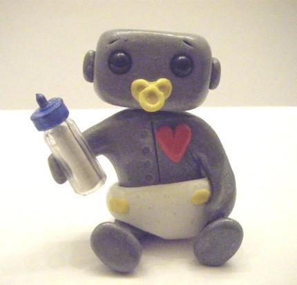 Baby Robot by sleepyrobot13