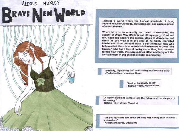 the themes portrayed in brave new world by aldous huxley in relation to modern society Aldous huxley essay examples aldous huxley's brave new world: the themes portrayed in brave new world by aldous huxley in relation to modern society.
