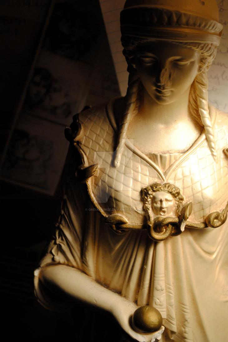 Athena, Goddess of Wisdom by GreiaPrince on DeviantArt