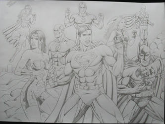 Justice League made 06.10.2010 by SUPERTIAGOF