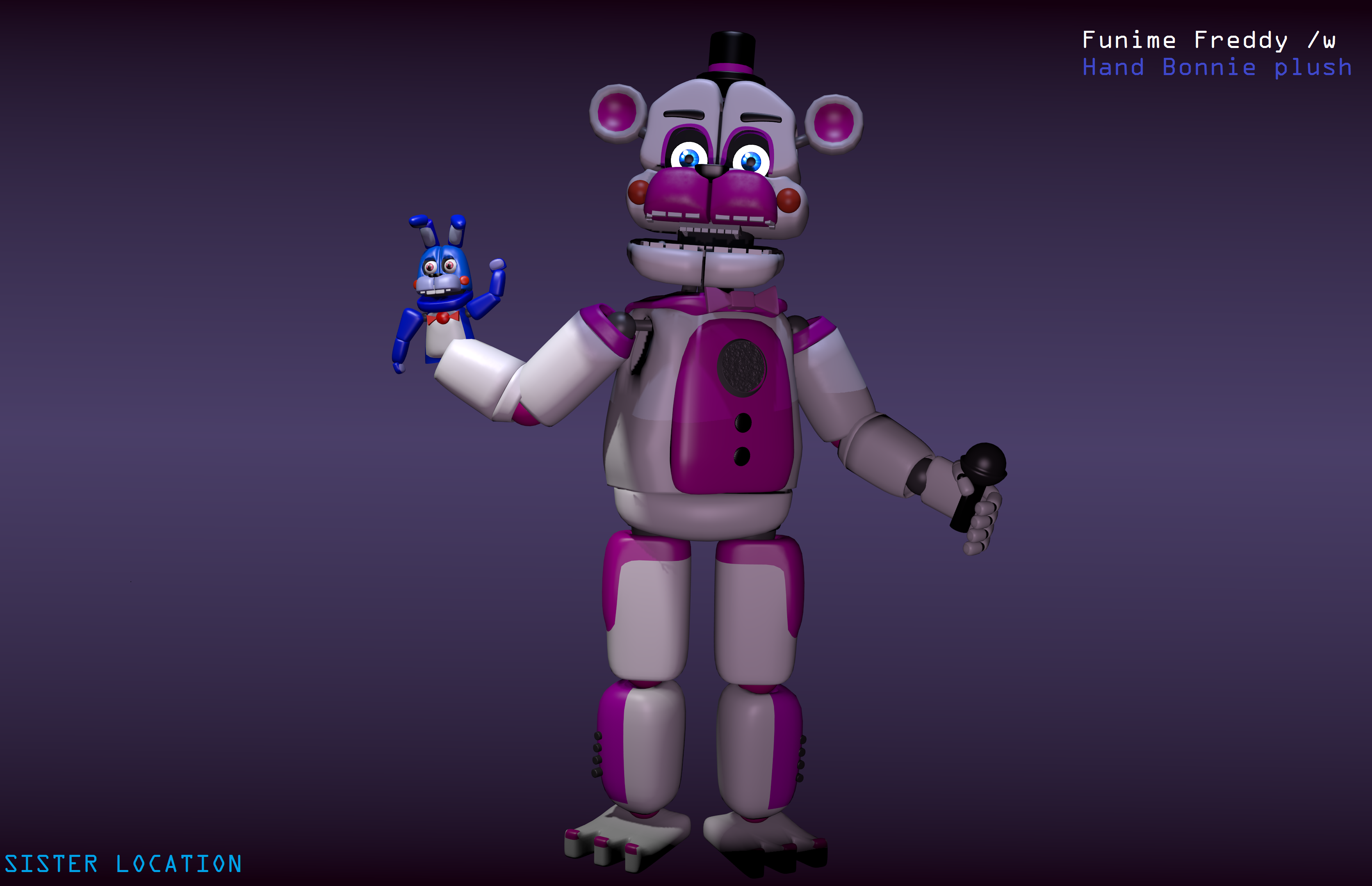 Mmd Funtime Freddy: Funtime Freddy By Timimouse15 On DeviantArt