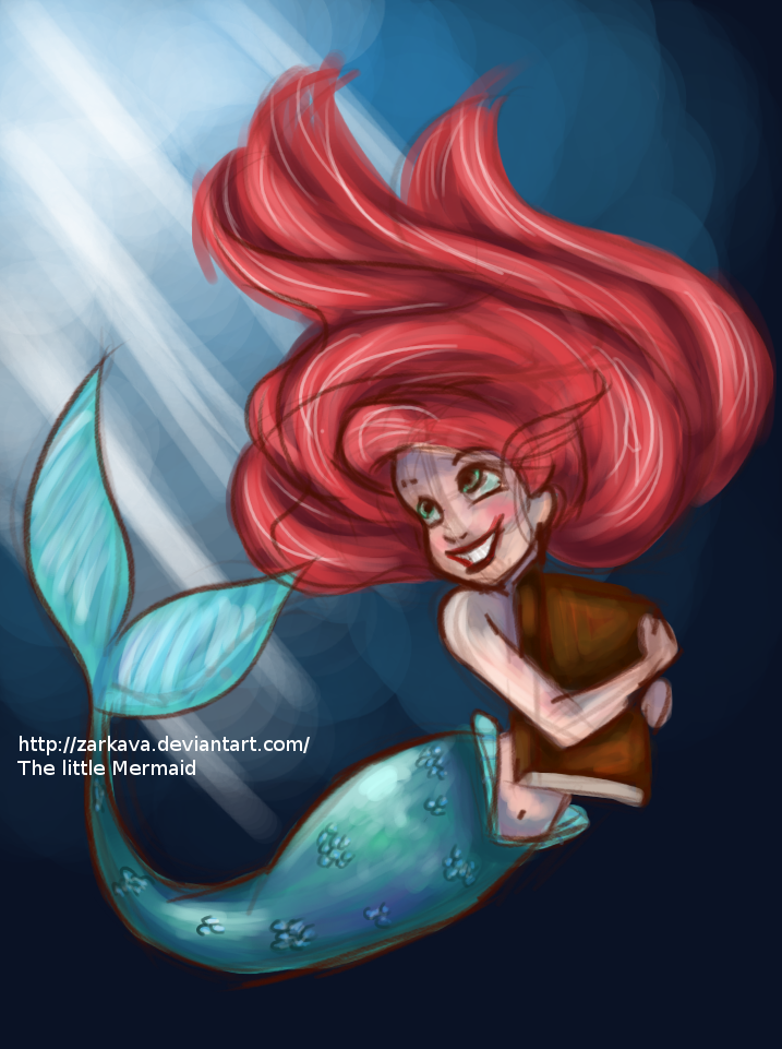 Ariel The Little Mermaid by Zarkava on DeviantArt