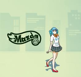 Request - 3265 (Mazda Girl)