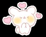 Bunny Emoji - (Hnng Heart Kawaii) [PMotes]