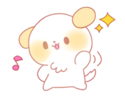 Puppy Emoji - (Kawaii Sparkle) [PMotes] by Jerikuto
