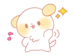 Puppy Emoji - (Kawaii Sparkle) [PMotes]