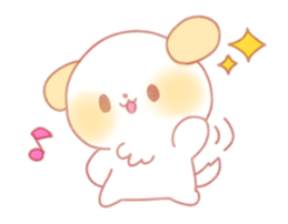 Puppy Emoji - (Kawaii Sparkle) [PMotes]