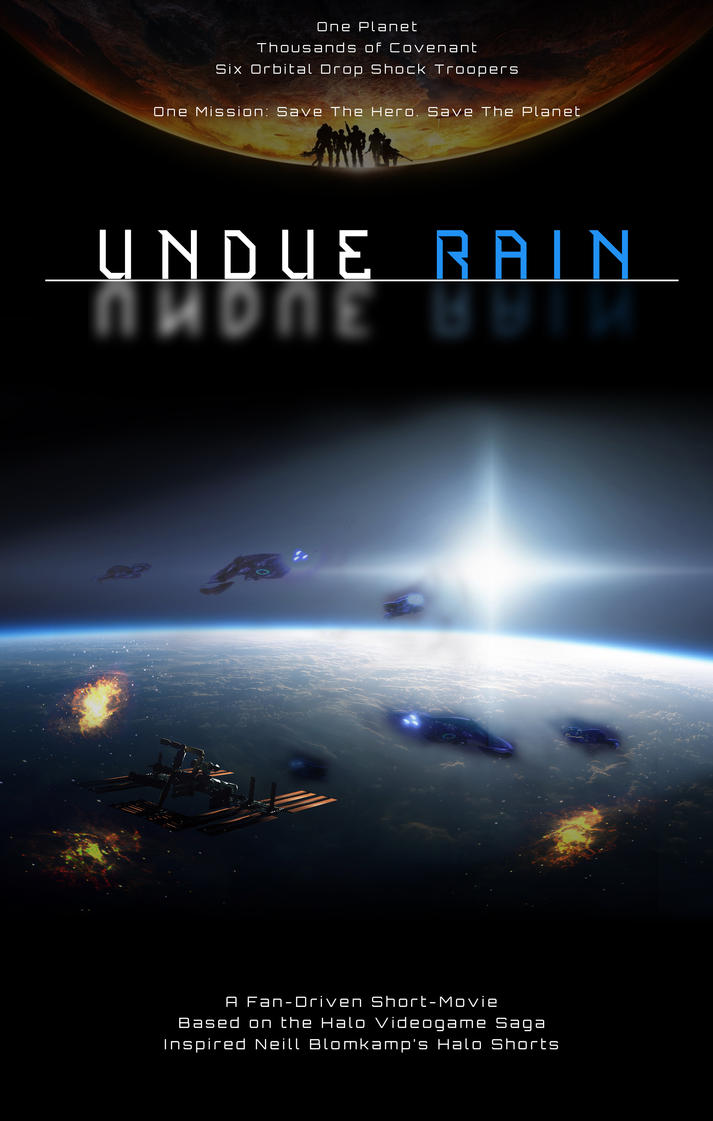 Undue Rain - Poster Mockup by prophetlost