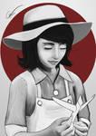 Naoko Satome - In Memorian by Francisco-Moraes