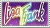 Lisa Frank Stamp by Apple-Rings