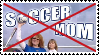 Anti Soccermoms Stamp by Apple-Rings