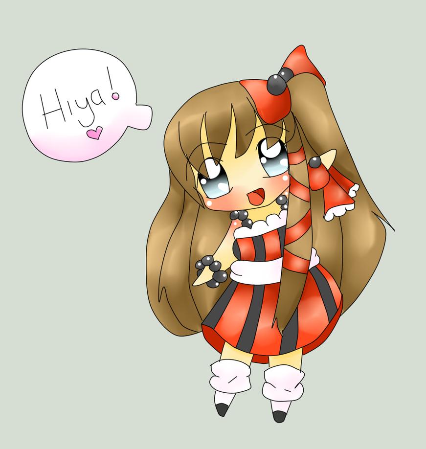 Melody's Greeting by Sakurarmarie