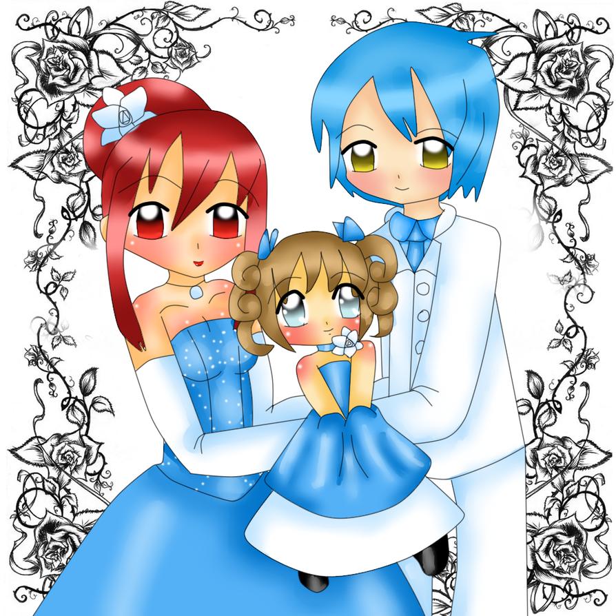 Fancy Family Portrait by Sakurarmarie