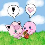 Kirby and Jigglypuff