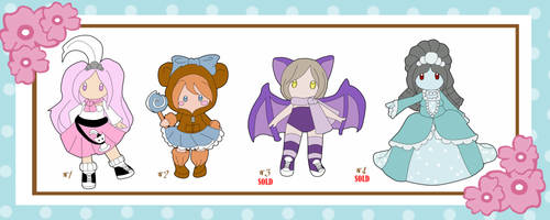Adoptables Batch 1 - 2 out of 4 Sold