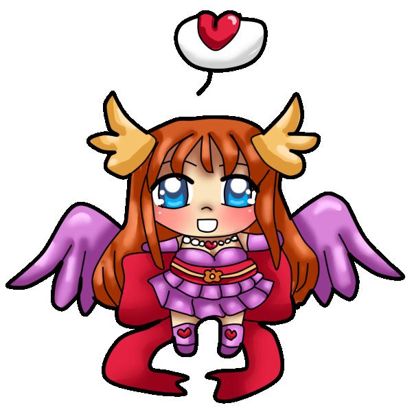 Angel Izka Squishy Chibi by Sakurarmarie