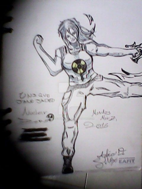 Unique Jane Jaded (Nuclear Zero) by WastedPunkOficcial