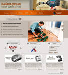 Bosch Service Web interfaces