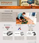 Bosch Service Web interfaces